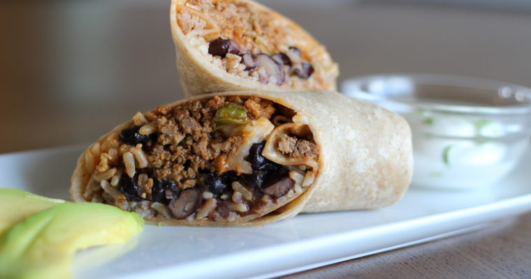 Turkey Picadillo Wrap
